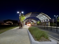 FEATURE PROJECT - DALLAS TEXAS- DART LIGHTRAIL - CD Ironworks, Inc.